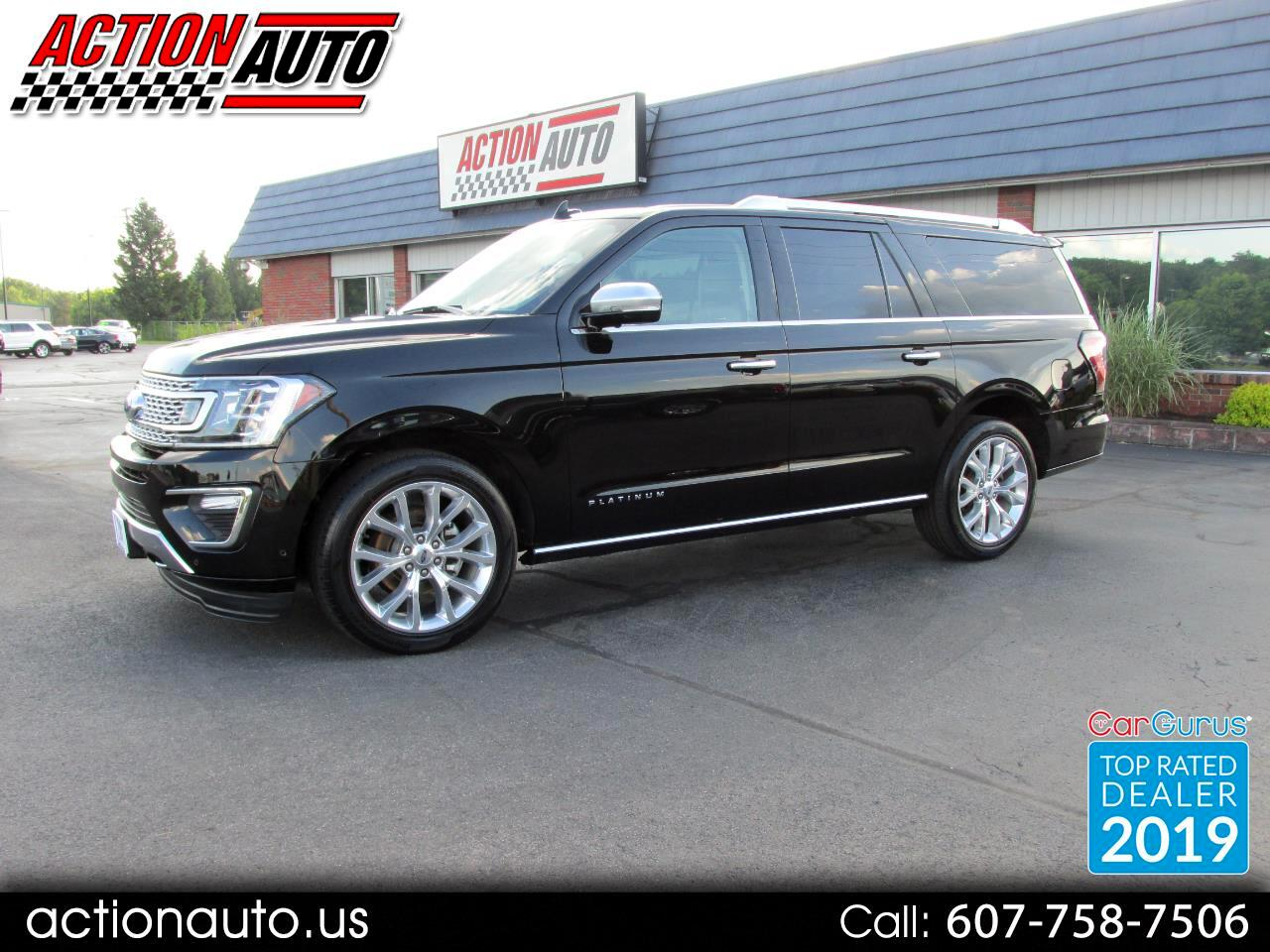Ford Expedition MAX Platinum 4WD 2018