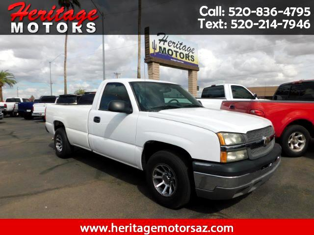 2004 Chevrolet Silverado 1500 Work Truck Long Bed 2WD