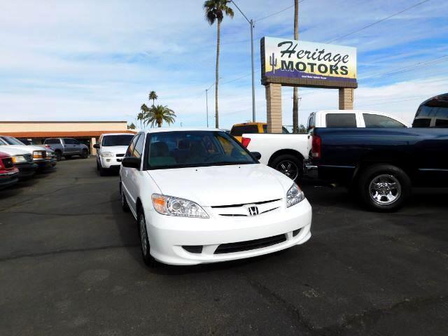 2004 Honda Civic LX Sedan AT