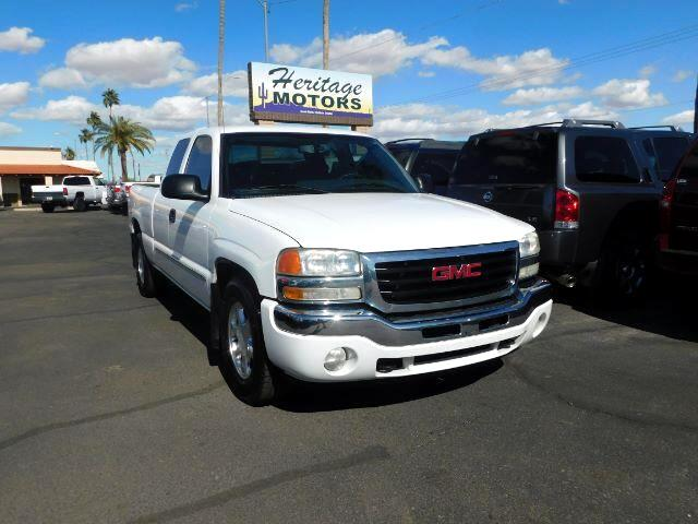 2006 GMC Sierra 1500 SL Ext. Cab Long Bed 2WD