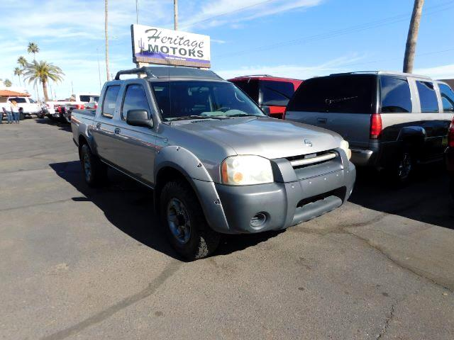 2002 Nissan Frontier SE-V6 Crew Cab 4WD