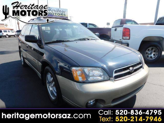 2002 Subaru Legacy Wagon 5dr Outback Man.