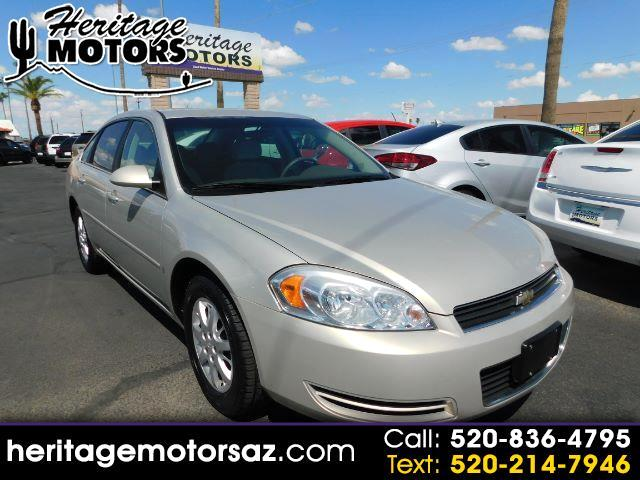 2008 Chevrolet Impala Police 4dr Sdn Unmarked Police
