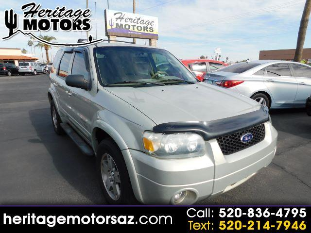 """Ford Escape 4dr 103"""" WB 3.0L Limited 2005"""