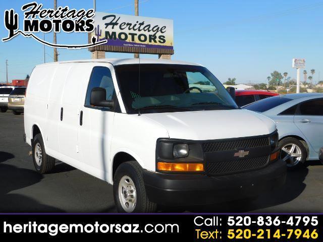 "Chevrolet Express Cargo Van 3500 135"" WB RWD 2003"