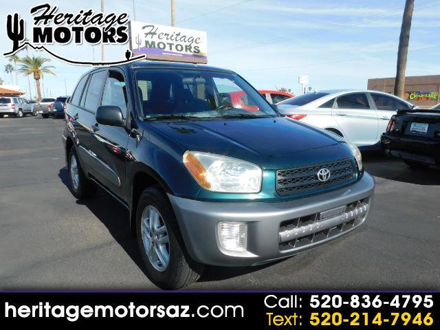 Toyota RAV4 4dr Manual (Natl) 2003