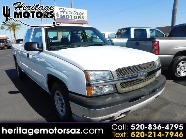 "Chevrolet Silverado 1500 Ext Cab 143.5"" WB 2003"