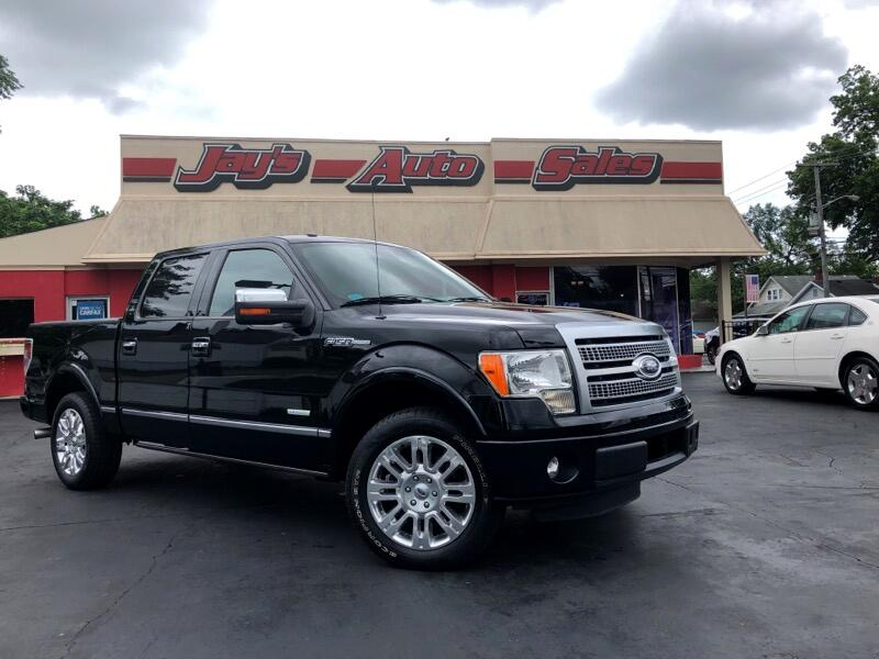"""2011 Ford F-150 2WD SuperCrew 139"""" Limited"""