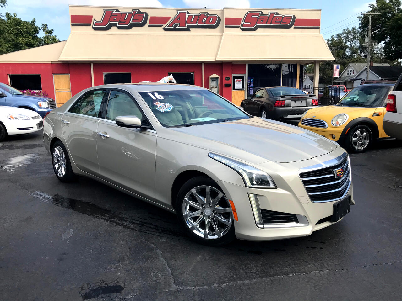 Cadillac CTS 3.6 Luxury AWD 2016