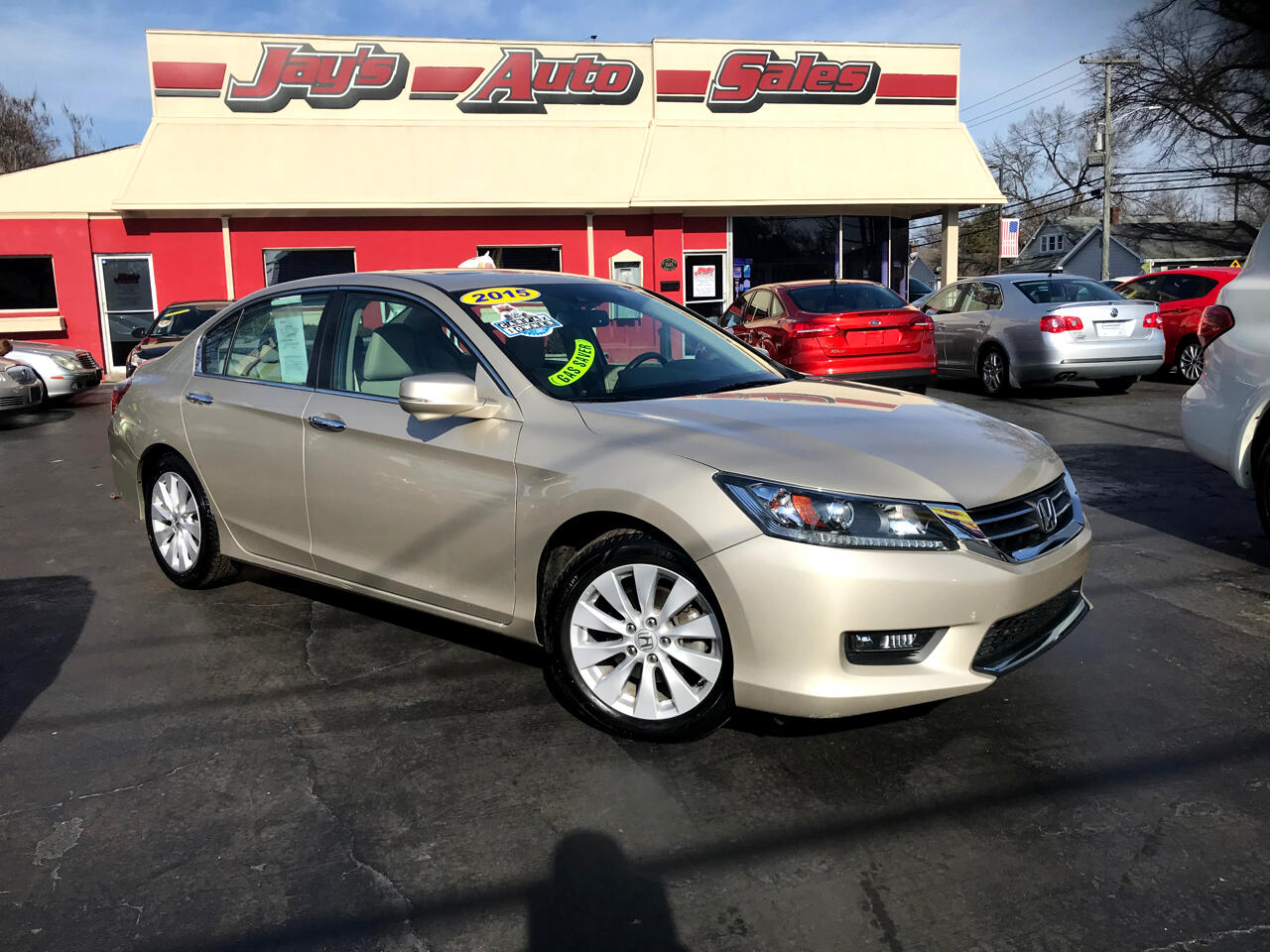 Honda Accord EX-L Sedan CVT 2015