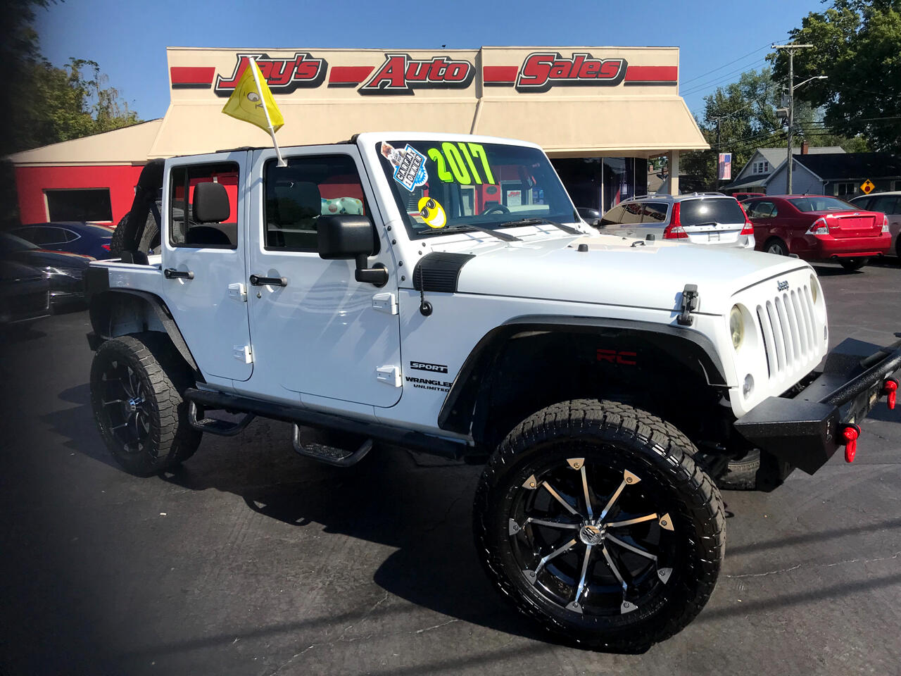 Jeep Wrangler Unlimited Sport 4WD 2017