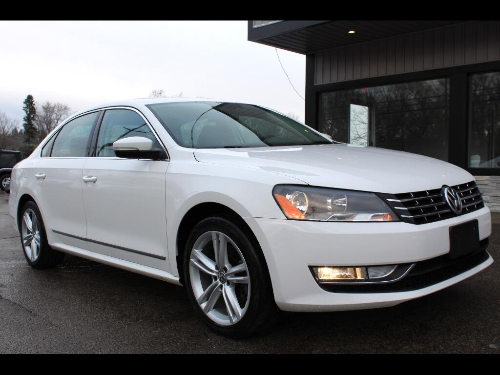 2013 Volkswagen Passat 3.6L V6 SEL Premium