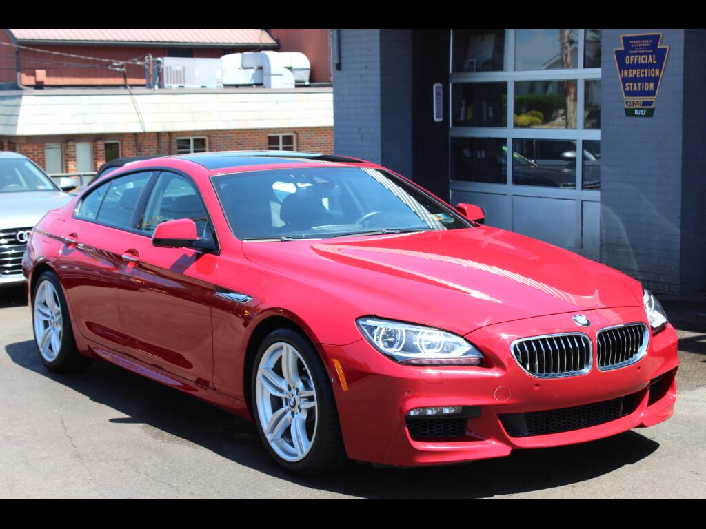 2015 BMW 6-Series Gran Coupe M Sport 640i xDrive