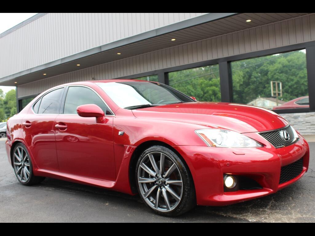 2010 Lexus IS F 8-Speed Direct