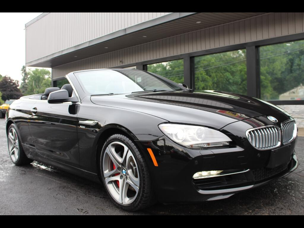 2012 BMW 6-Series 650i X-Drive Convertible