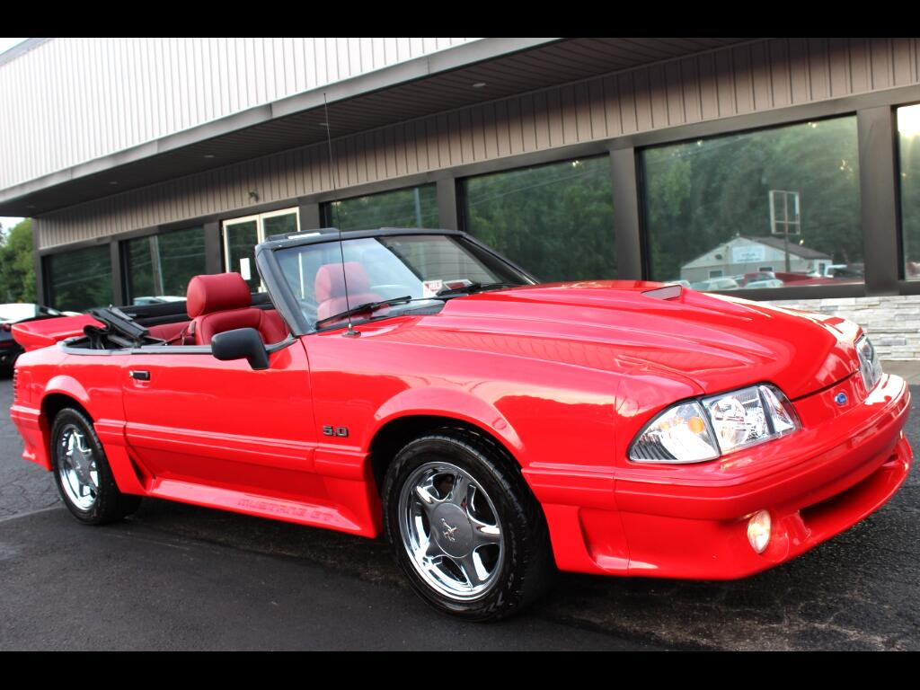 1987 Ford Mustang 2dr Conv GT