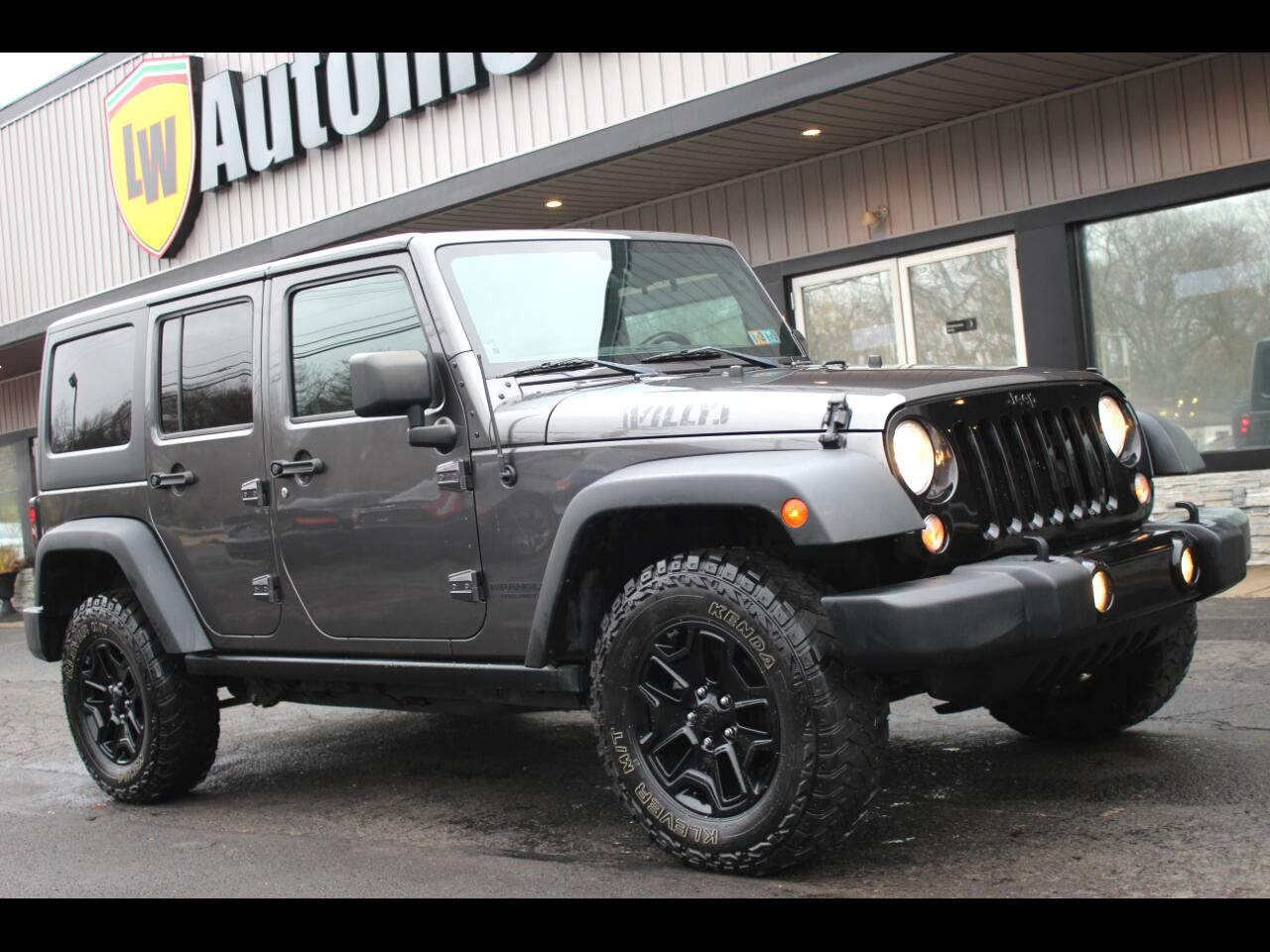 2014 Jeep Wrangler Willys Wheeler Unlimted 4WD