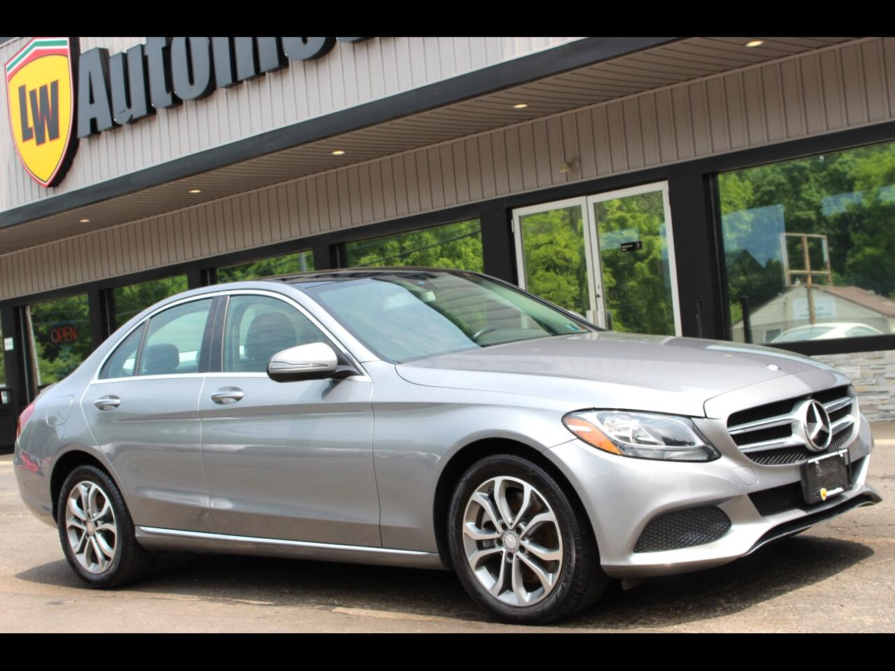 2016 Mercedes-Benz C-Class C300 4MATIC Sedan