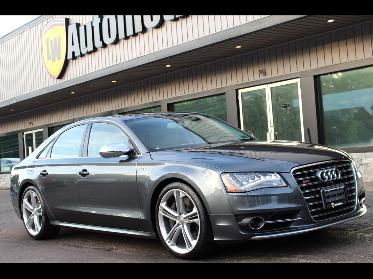2013 Audi S8 4.0 Sedan quattro Tiptronic