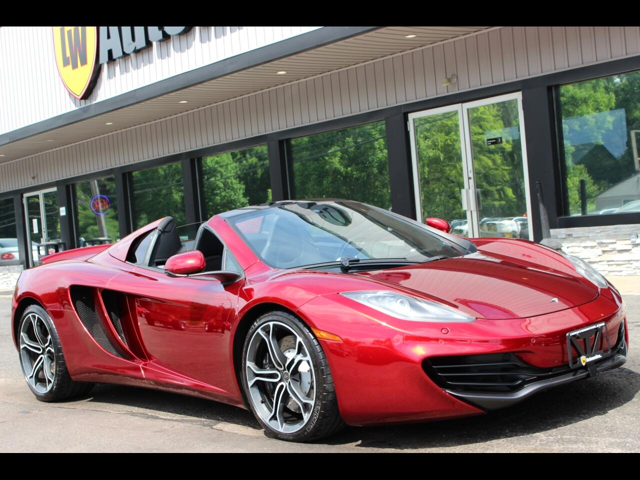 2014 McLaren MP4-12c 2dr Conv Spider