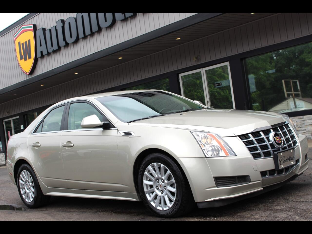 2013 Cadillac CTS 4dr Sdn 3.0L Luxury AWD