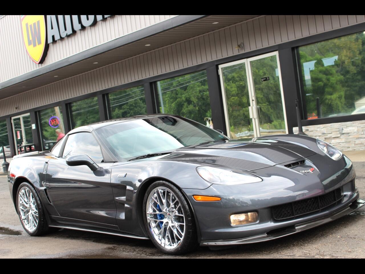 2010 Chevrolet Corvette 2dr Cpe ZR1 w/3ZR
