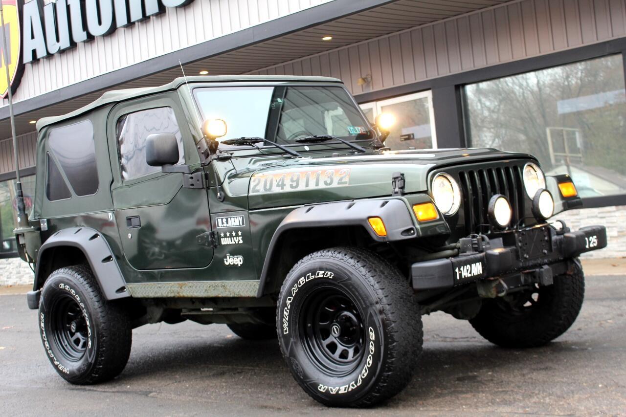 Jeep Wrangler 2dr X 2004