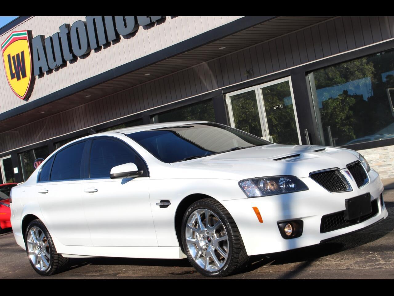 2009 Pontiac G8 4dr Sdn GXP