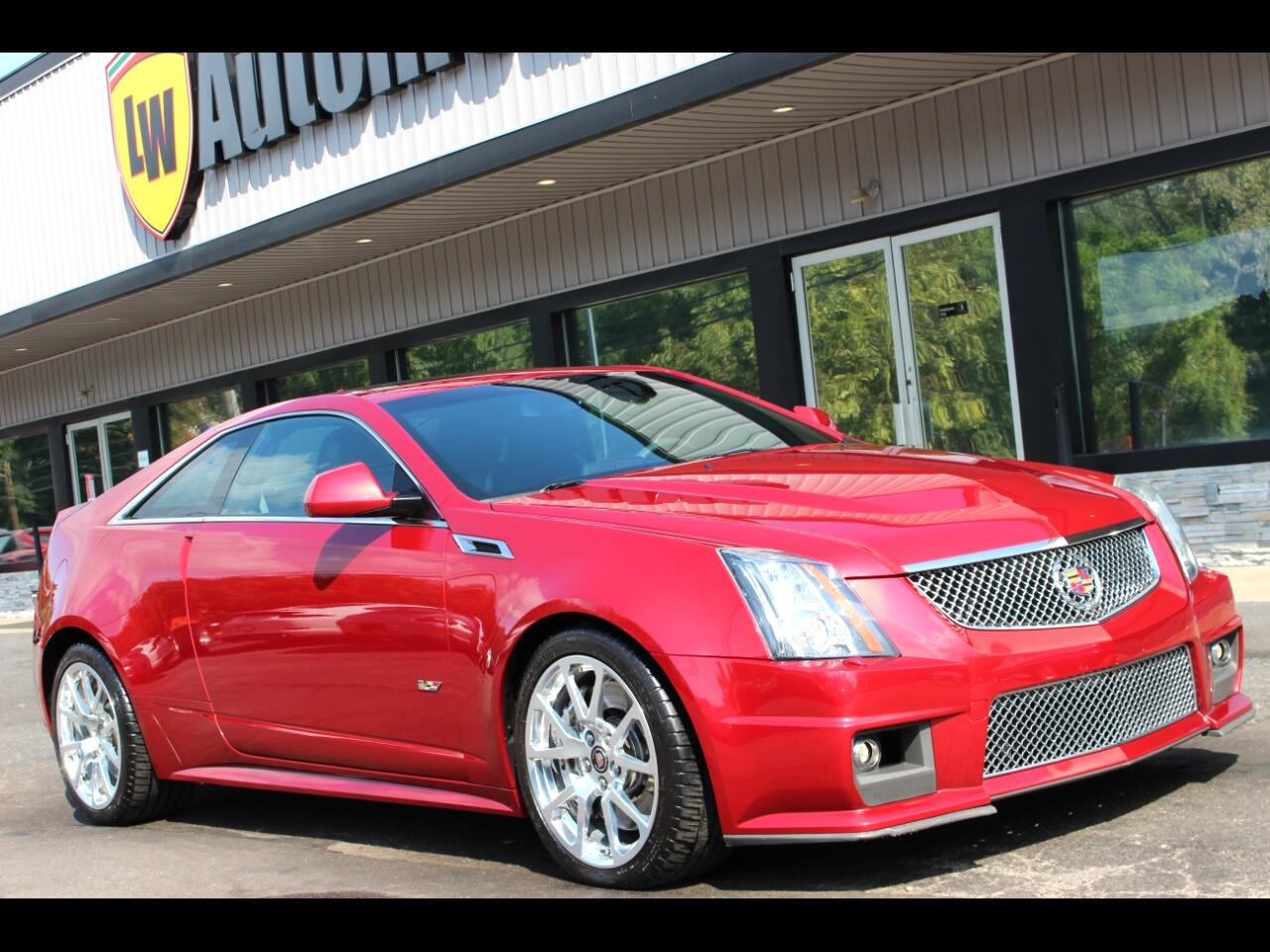 Cadillac CTS-V Coupe 2dr Cpe 2012