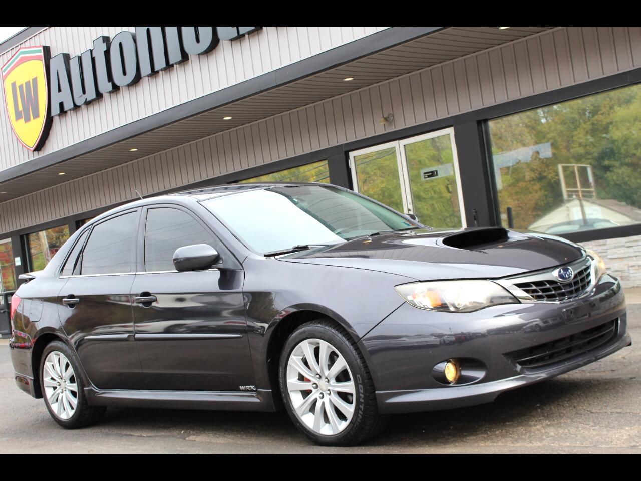 Subaru Impreza Sedan (Natl) 4dr Man WRX w/Premium Pkg 2008