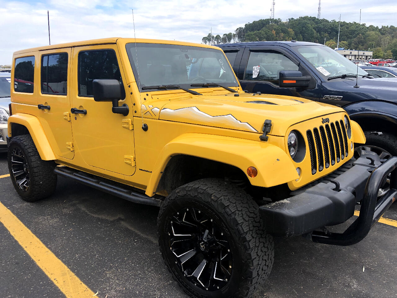 Jeep Wrangler Unlimited 4WD 4dr Wrangler X *Ltd Avail* 2015