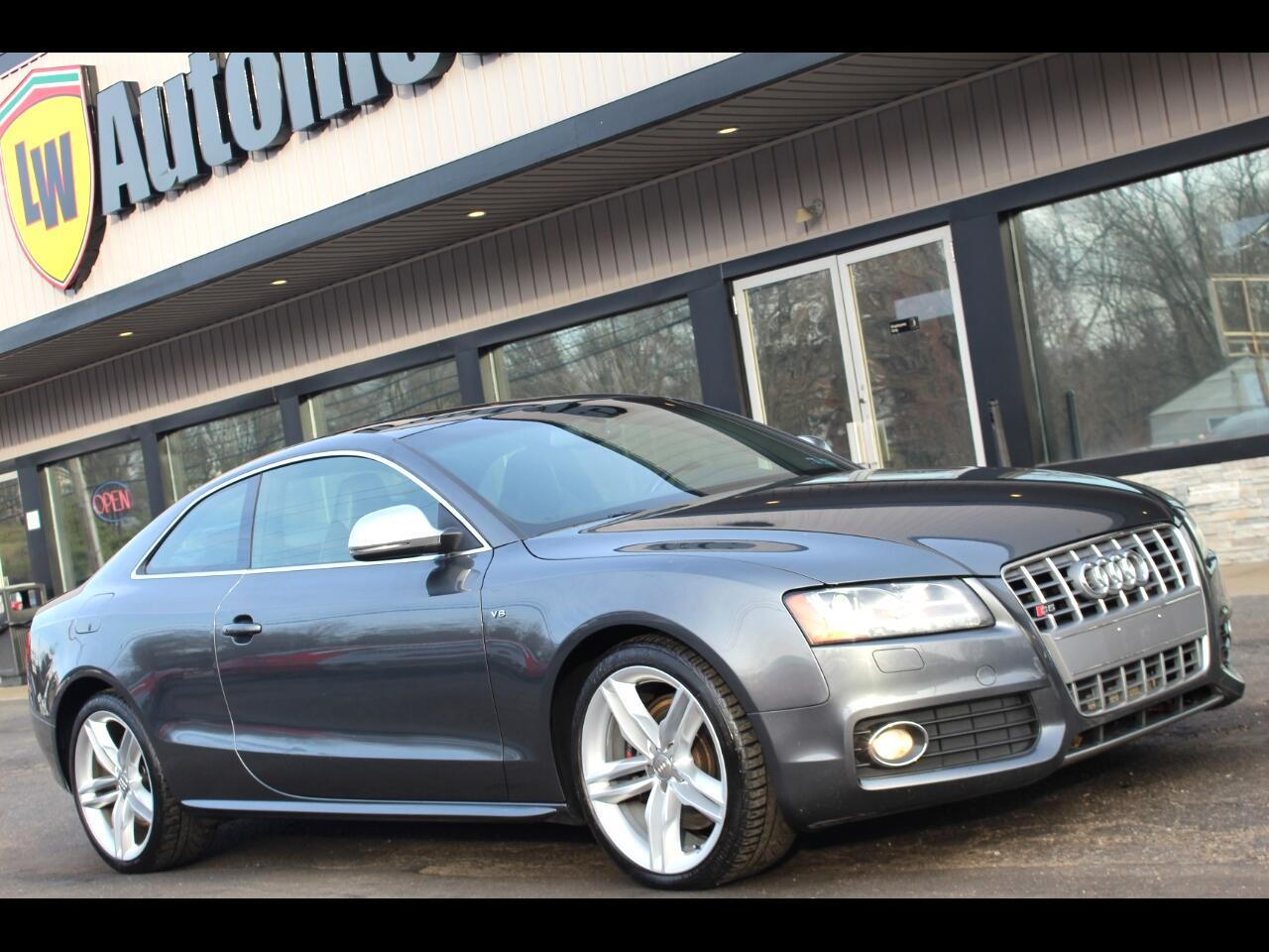 Audi S5 2dr Cpe Man 2009