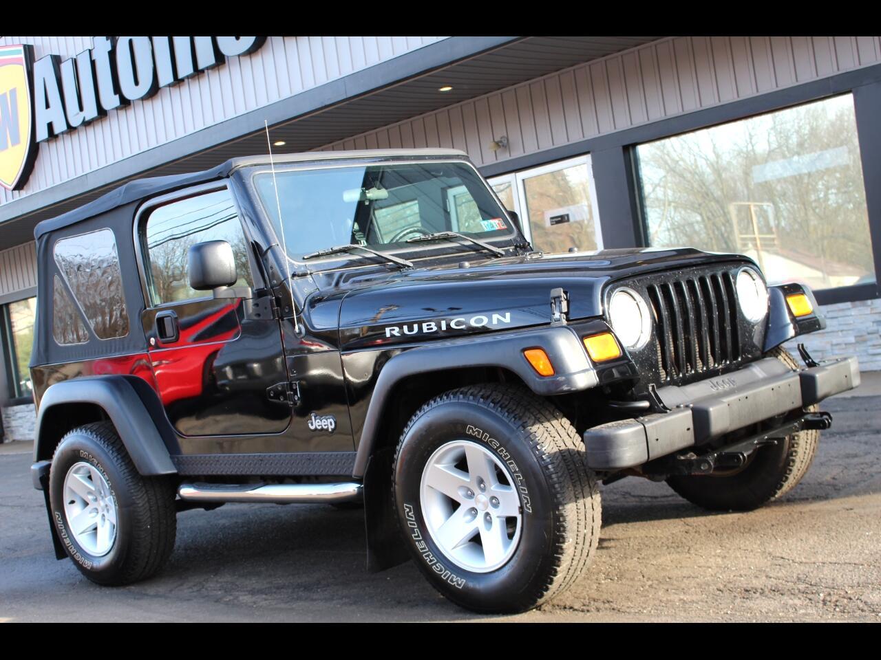 Jeep Wrangler 2dr Rubicon 2004