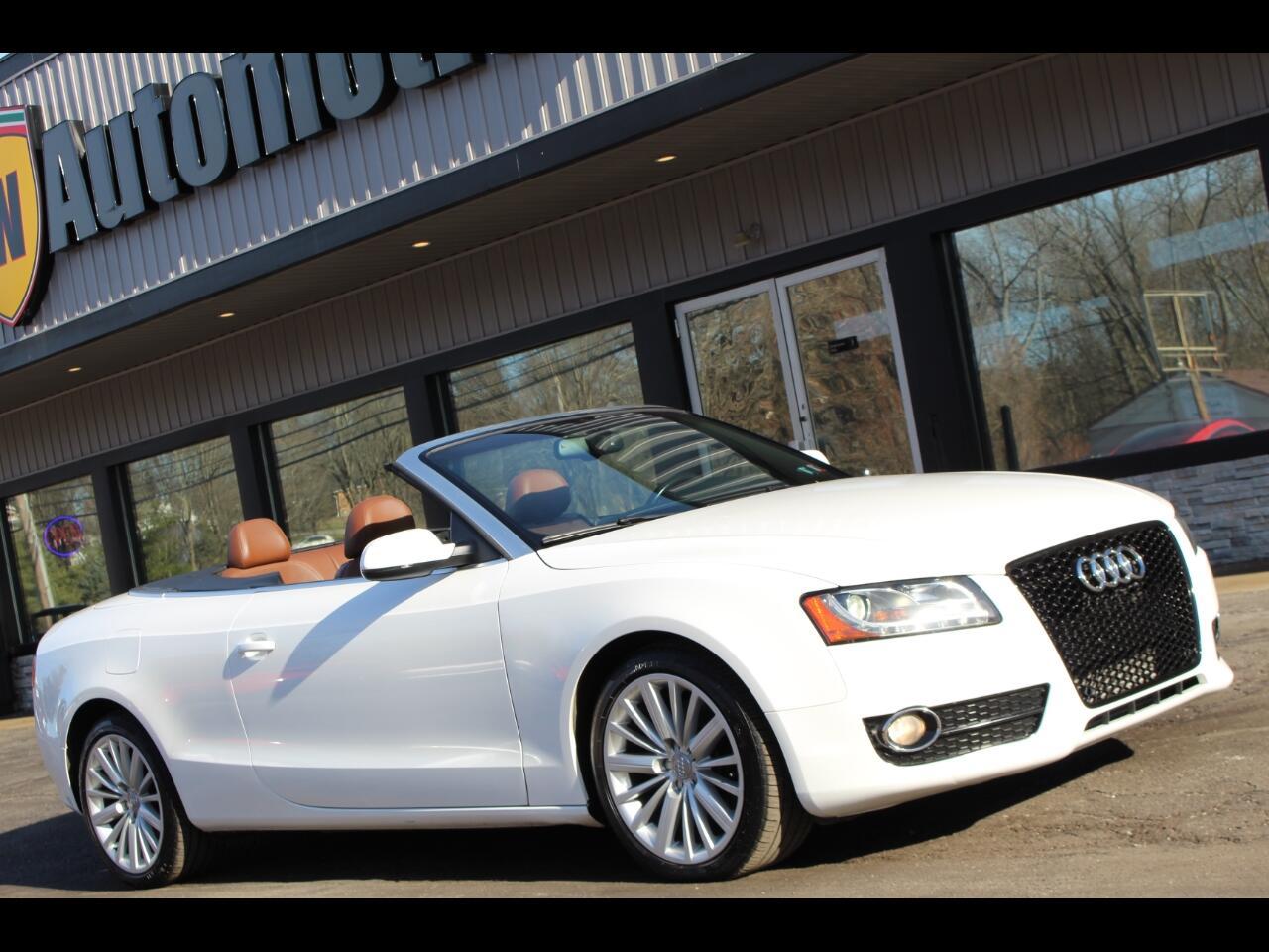 Audi A5 2dr Cabriolet Auto quattro Prestige 2010