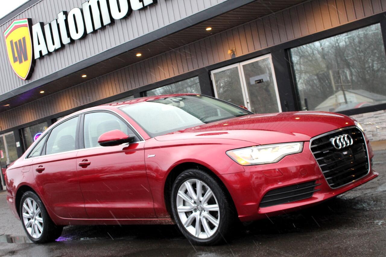 Audi A6 4dr Sdn quattro 3.0T Premium Plus 2013