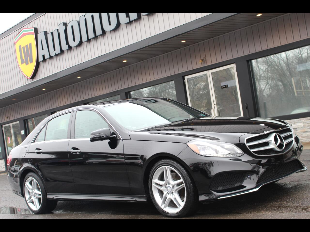 Mercedes-Benz E-Class 4dr Sdn E 350 Luxury 4MATIC 2014