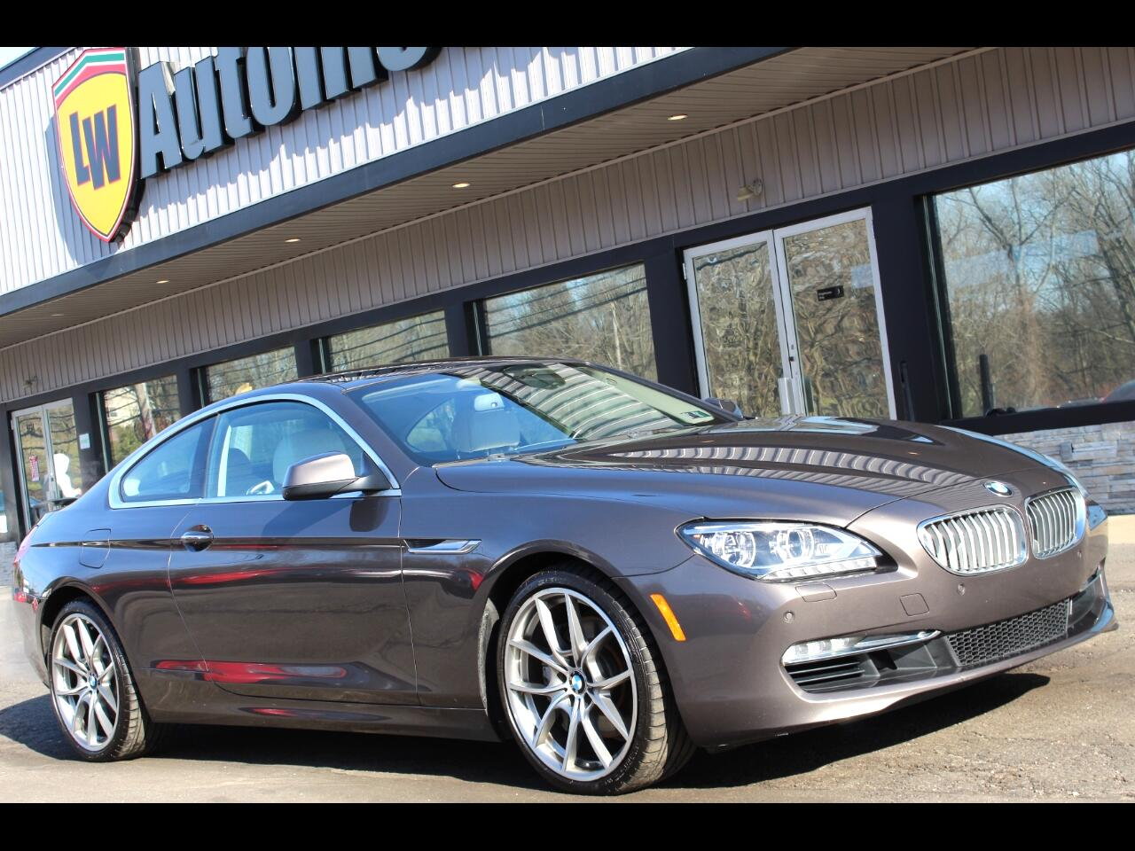 BMW 6 Series 2dr Cpe 650i xDrive 2013