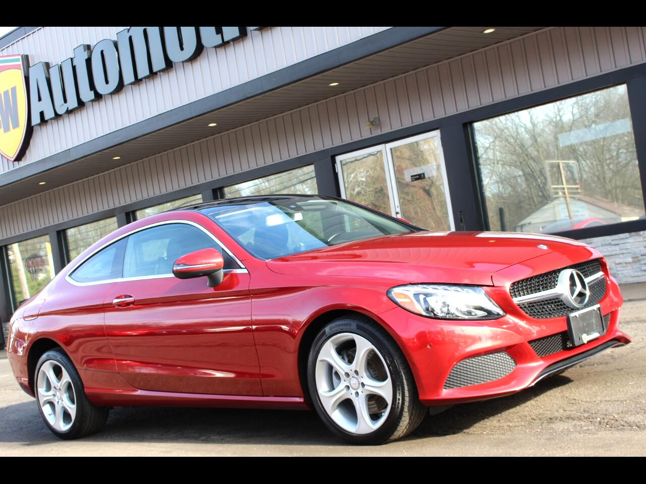 Mercedes-Benz C-Class C 300 4MATIC Coupe 2017