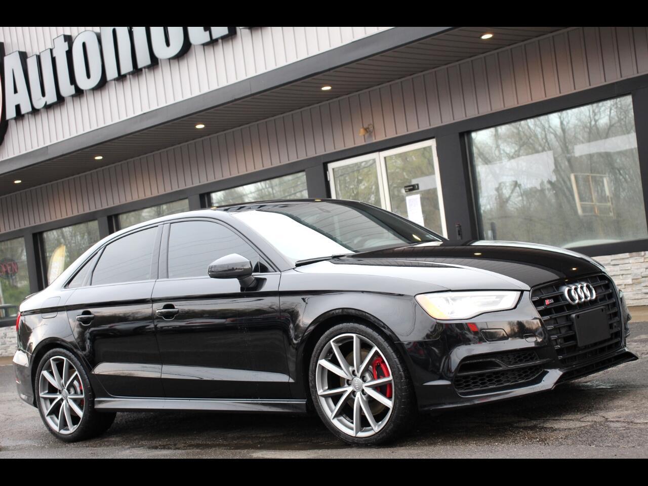 Audi S3 4dr Sdn quattro Premium Plus 2016