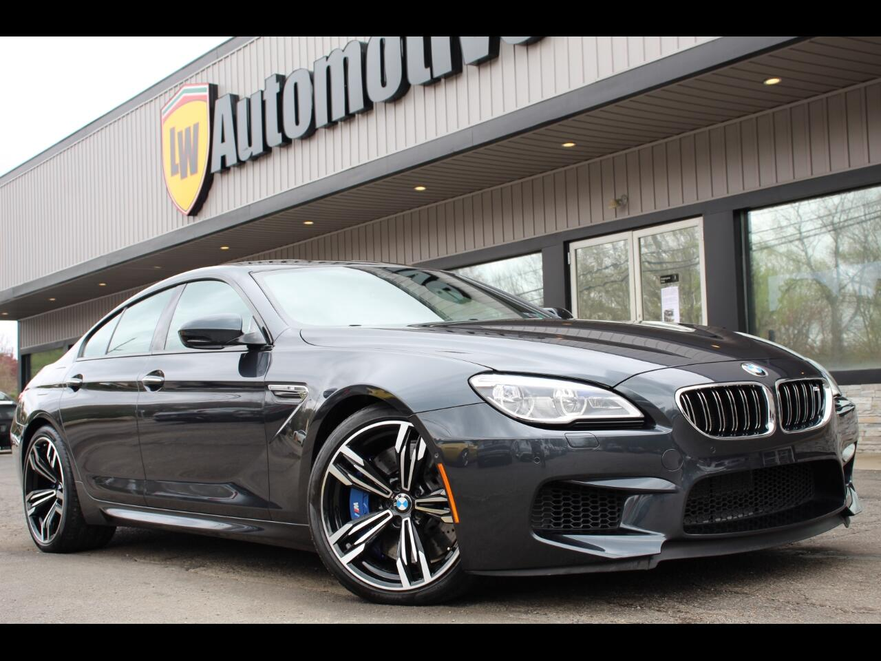 BMW M6 Gran Coupe 2018