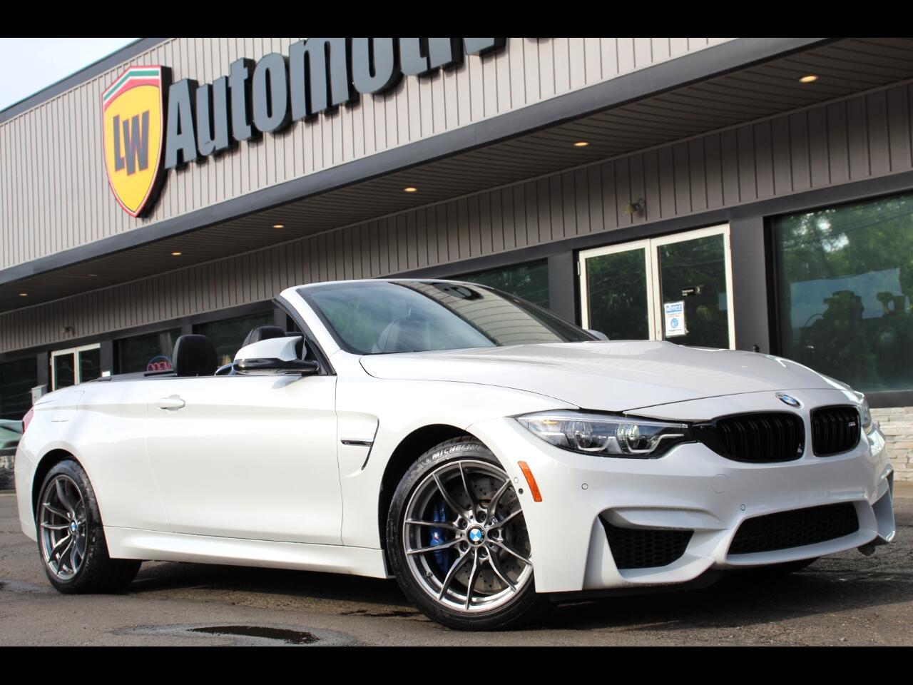 BMW M4 Convertible 2018