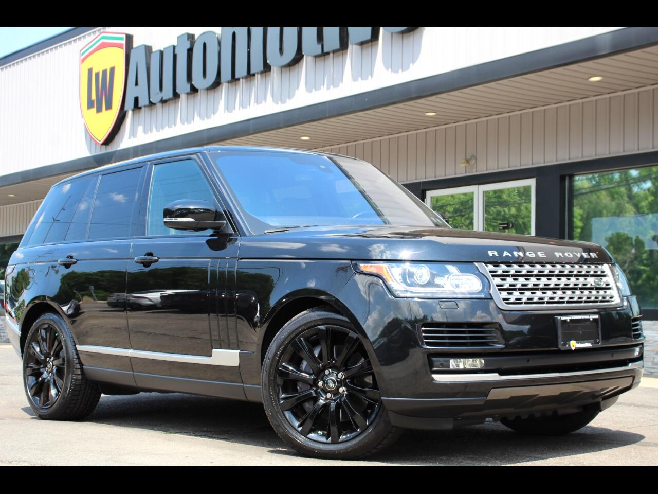 Land Rover Range Rover 4WD 4dr Supercharged 2016