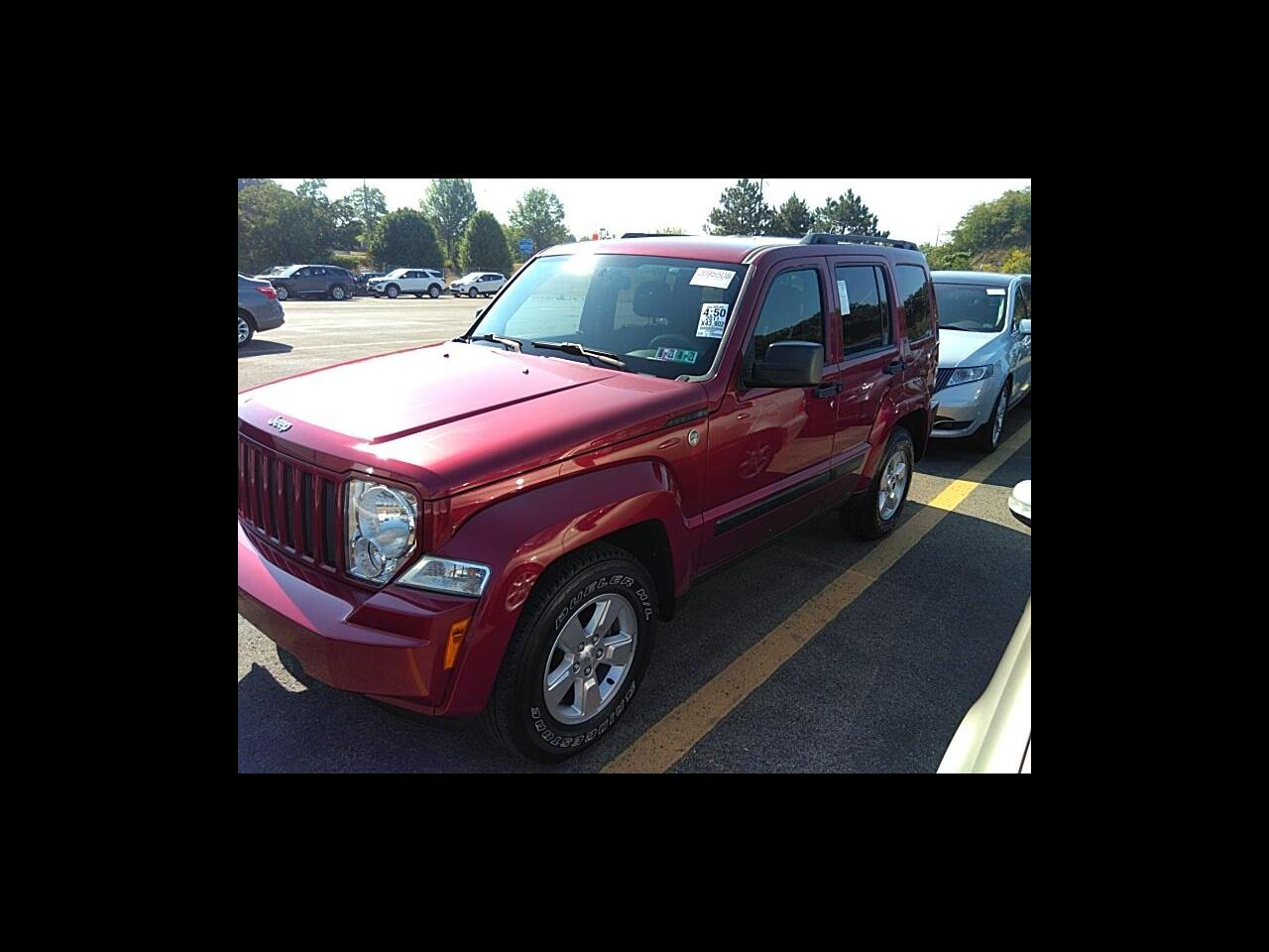 Jeep Liberty 4WD 4dr Sport 2011