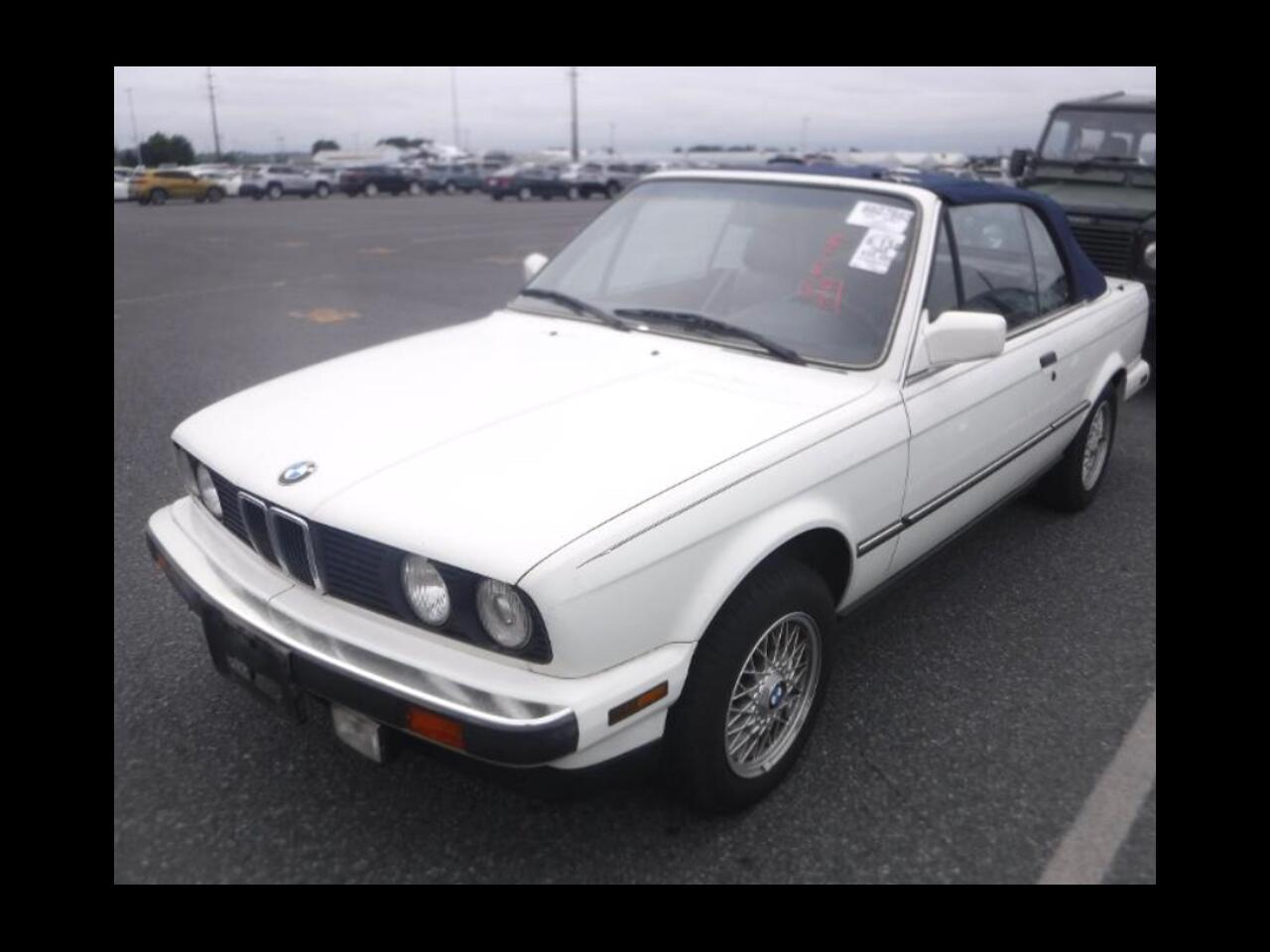BMW 3 Series 2dr Convertible 325iC 1988
