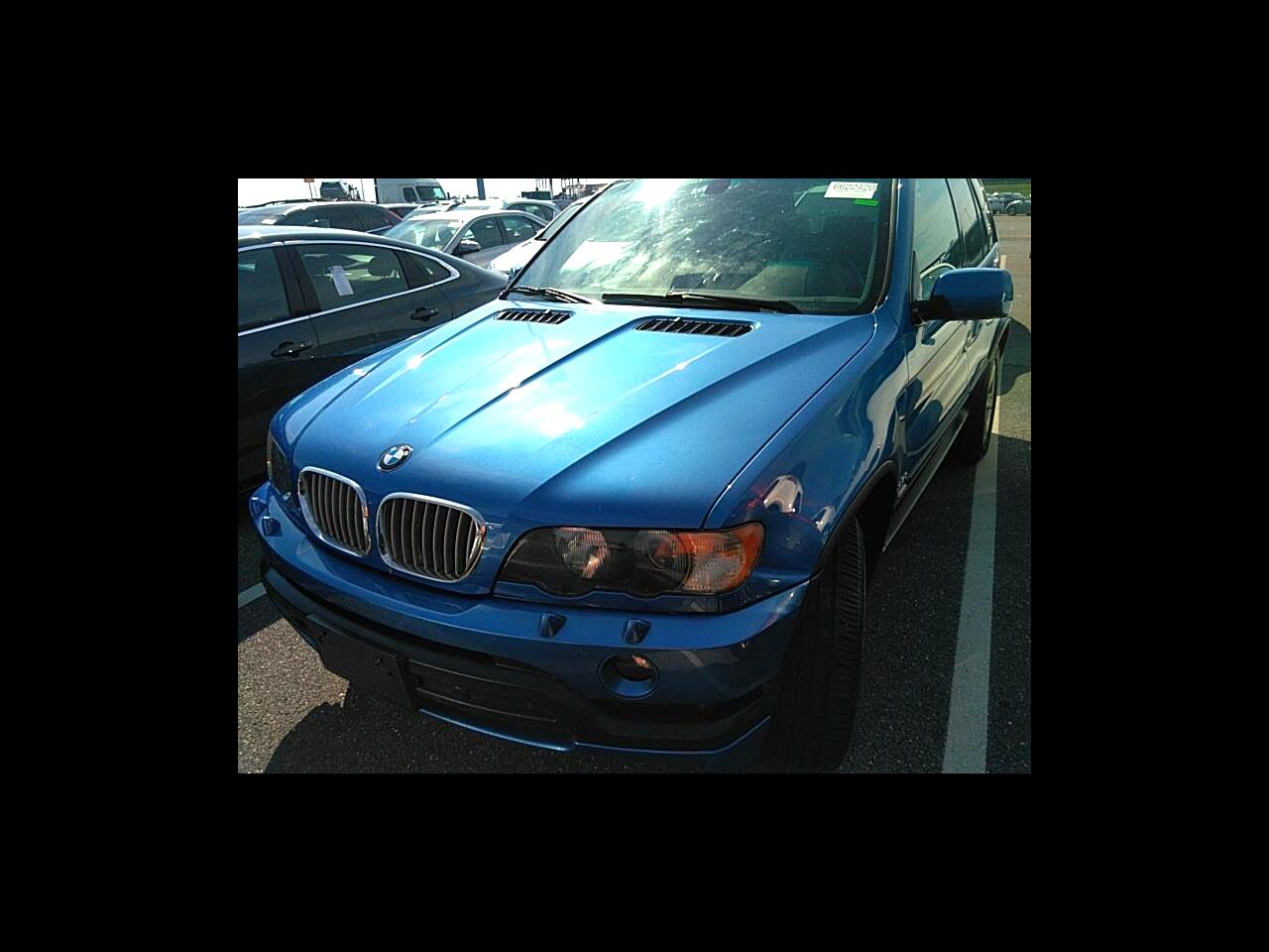 BMW X5 X5 4dr AWD 4.6is 2003