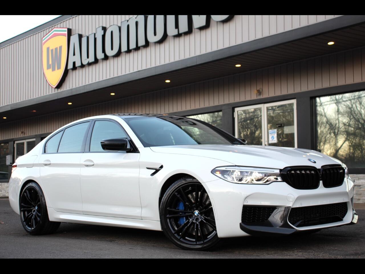 BMW M5 Competition Sedan 2019