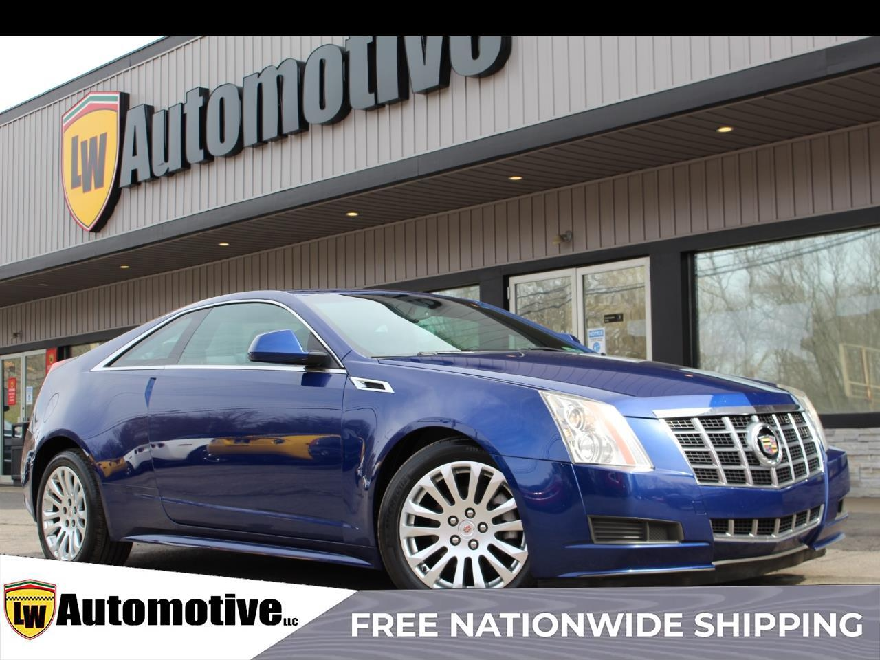 2012 Cadillac CTS Coupe 2dr Cpe AWD