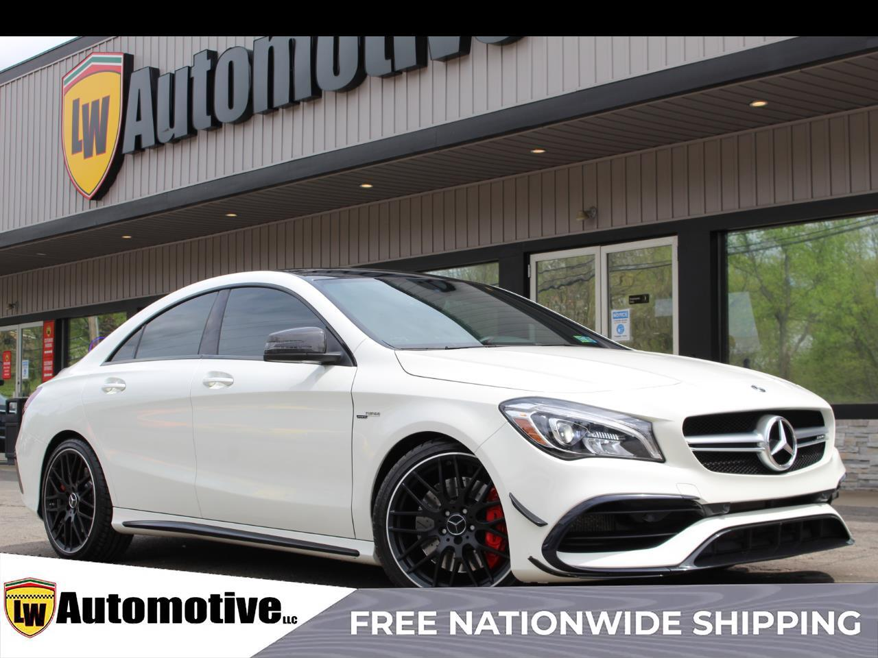 2018 Mercedes-Benz CLA AMG CLA 45 4MATIC Coupe