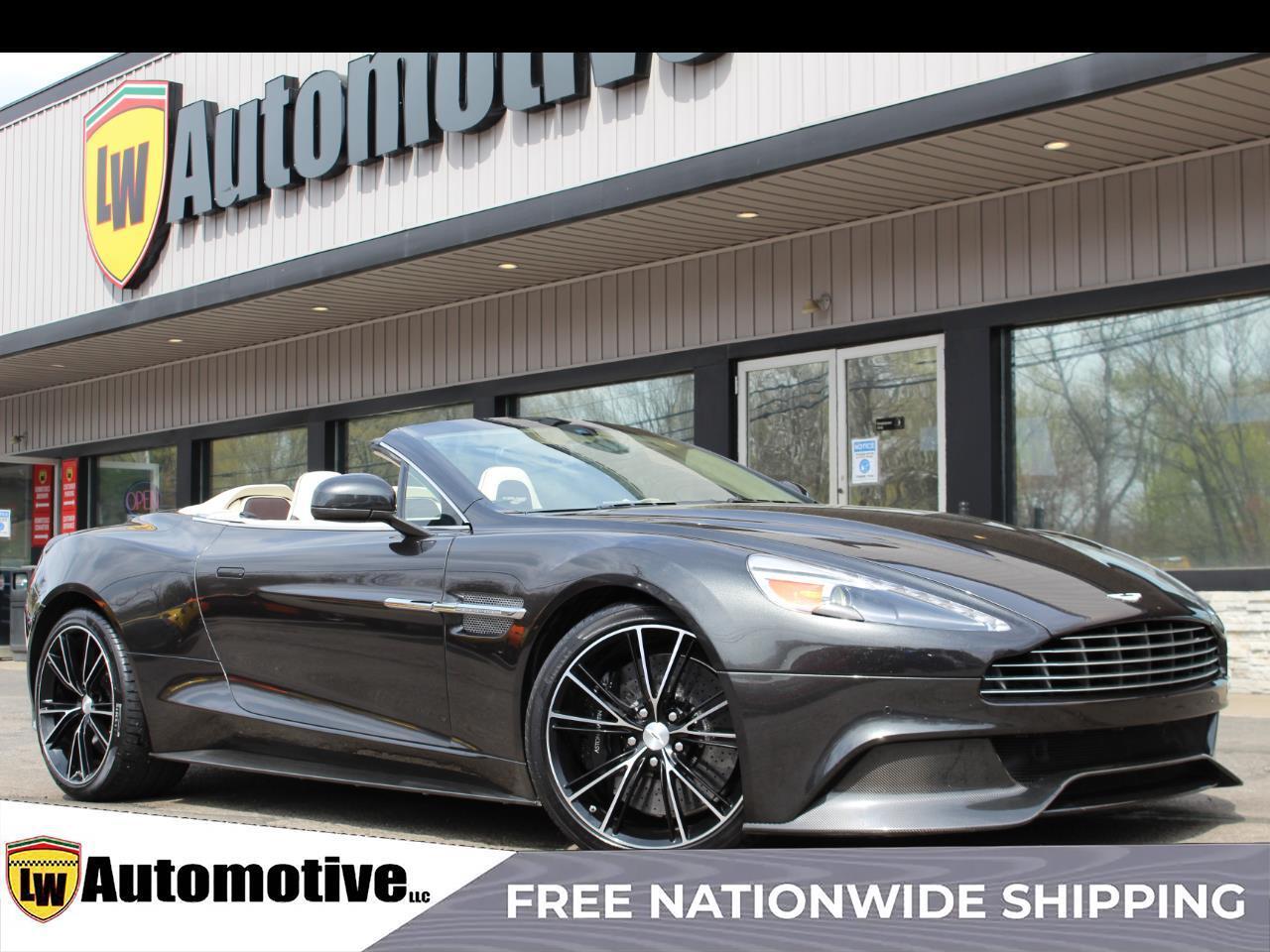 2014 Aston Martin Vanquish 2dr Volante