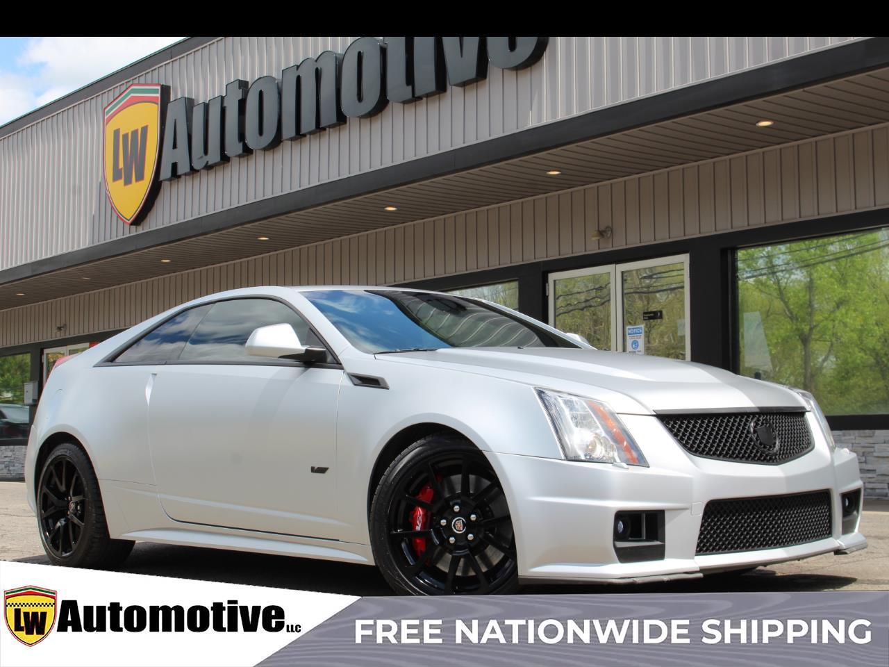2013 Cadillac CTS-V Coupe 2dr Cpe
